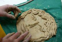 ceramic art studio with kids