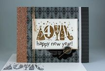 New Year/Celebration Cards / Celebration inspiration