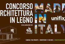 """Concorso Architettura in Legno """"Made in Italy"""""""