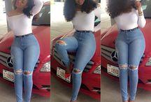 jeans leggins y shorts