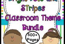 Planet Happy Classroom Decor Bundles / HUGE Time and Money Saving Bundles!