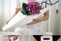 Flower Packaging / Cool flower packaging ideas for your inspiration.