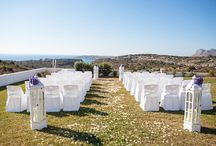 SEA VIEW ESTATE / A luxurious and impressive venue in stunning surroundings & with panoramic sea views for the perfect wedding in Crete. MOMENTS www.weddingincrete.com