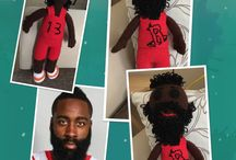 James Harden amigurumi doll