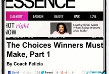 Coach Felicia Tweetables / Original quotes from writings or speeches by Coach Felicia.