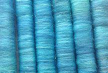Artyfibres Mini Art Batts and Rolags / Spinning fibres by Artyfibres