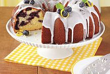 Bunt Cakes/Pound Cakes / by Carolyn Bagwell