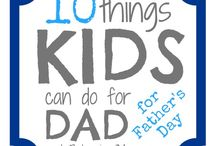 Father's Day / Father's Day gifts:  toys & crafts