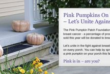Excited for the Pink Pumpkins
