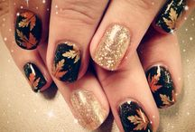 fall nails art