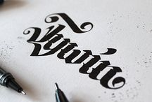 Callygraphy&Lettering
