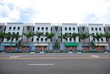 Marlins Park / We're part of @MiamiMarlins history! Our custom awnings at #MarlinsPark