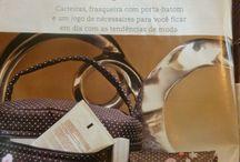 Patchwork e costura / Revistas, trabalhos, gráficos...