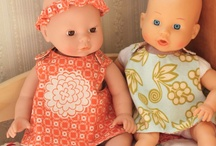dolls cloths and mini quillts