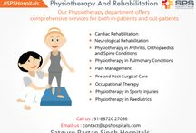 Physiotherapy And Rehabilitation at SPS Hospitals