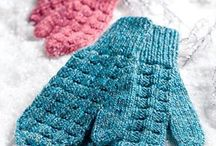 slippers, mittens and gloves