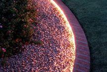 giardino illuminazione