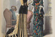 Suknie 1870-1879