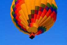 ADIRONDACK BALLOON FESTIVAL/& other flights / FLYING HIGH / by Sandra Randall