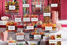 Candy bar / Wedding candy bar ideas