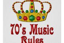 70's / muziek en posters