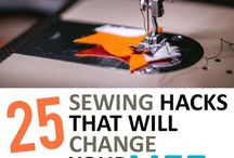 Sewing hacks and short cuts