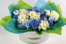 Baby Bouquet Baby Shower Centerpiece