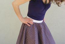 Šití sukně