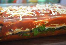 Gluten free vegan lasagne