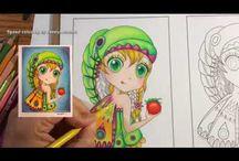 Speed coloring by JennyLuanArt