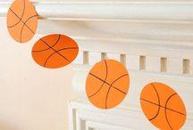Basketball baby shower ideas