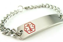 Warfarin Medical ID Bracelet / Know More About Warfarin ID Bracelets with the best engraving possible. Warfarin Bracelets are very easy for doctors and paramedics to read. Engraving is the most important part, specifically black engraving is highly visible on all of our bracelets.