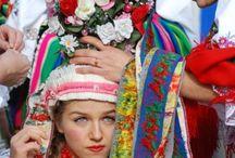 Fargerike bryllup / Fargerike tradisjonelle bryllup fra hele verden