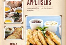 Bread: Attractive Appetisers / With such a wide range of interesting breads there is something for every taste – a few slices will enhance any appetiser.