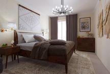 Habitaciones / Bedding room - interior decor