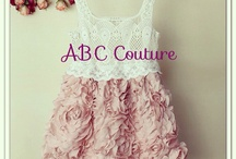 ABC Couture Kids / Baby girls clothing and accessories  www.facebook.com/abccouture / by ABC Couture Kids Boutique