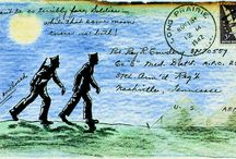art mail art faux poste / by Therese Dignard