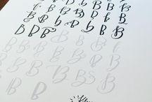 Let Letter Lettering