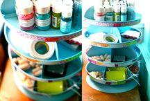 Cool Craft Storage Ideas / by Susi Unupi