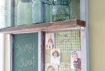 Old window project / by Teresa Patterson