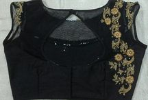 designer blouses with Maggam works / we are processors and exporters of Blouses with different works