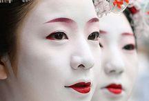 Geisha Makeup and Hair
