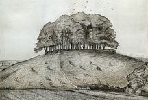 Paul Nash | Wittenham Clumps
