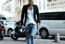ByTheR- Classy Looking Street Punk Style / http://en.byther.kr/