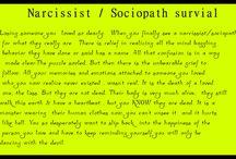 Narcissist / Sociopath survival