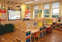 Innredning av klasserom