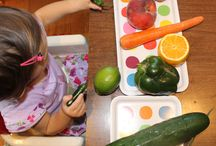 Kids in the Kitchen / Each week linking up a post, new or old, that feature the theme Kids in the Kitchen. It doesn't matter what you are doing as long as you are doing it together, enjoying it and learning something along the way.  - picking fruit and using in recipes - preparing healthy snacks - having a tea party - trying a new recipe together - pouring from measuring cups - creating new family friendly recipes
