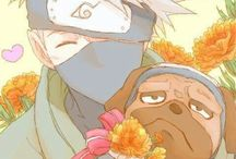 Kakashi / A BOARD FOR THE LOML (may contain yaoi)