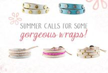 Wraps, wraps, wraps! / Leather, crystal, animal print....which is your favourite?!