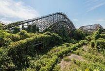 parc attraction abandonné